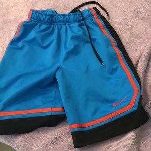 Nike blue shorts medium